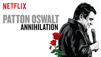 Netflix box art for Patton Oswalt: Annihilation
