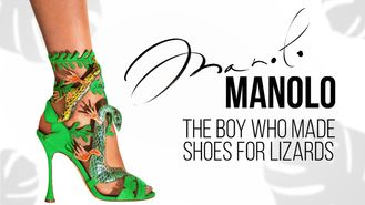 Netflix box art for Manolo: The Boy Who Made Shoes for Lizards
