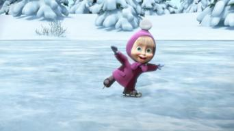 Masha and the Bear: Season 1: Holiday on Ice & First Day of School